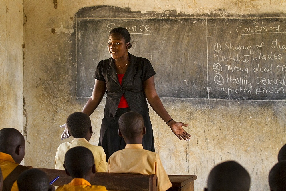 Teaching is one of the challenging jobs in Ghana.