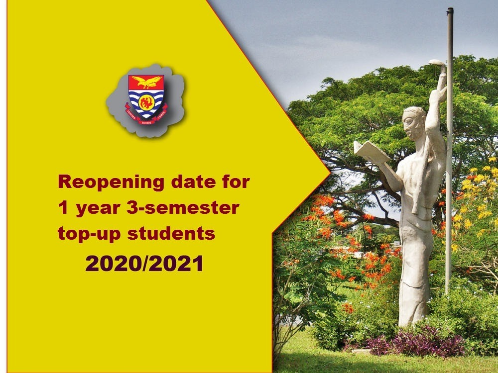 3-semester top-up Reopening date