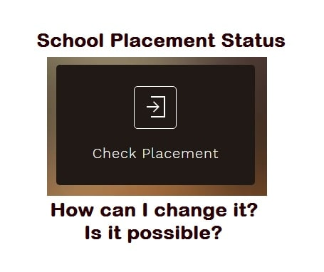 2020 school placement