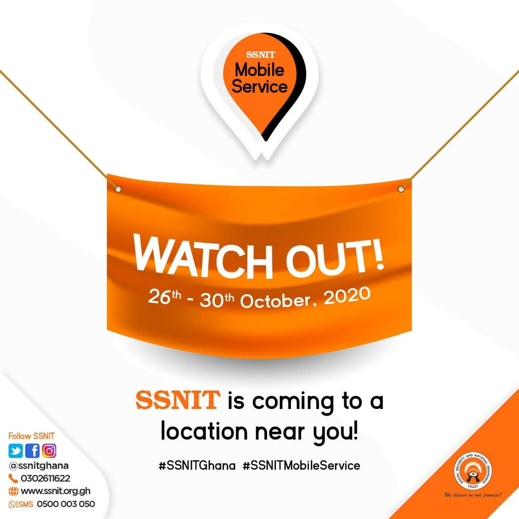 SSNIT contributions