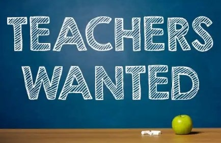 Job Vacancy For Teachers