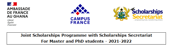 2020-2021 French Scholarships for Ghanaians