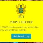 How to buy 2020 School Placement Checkers Online For GHS6.00 only