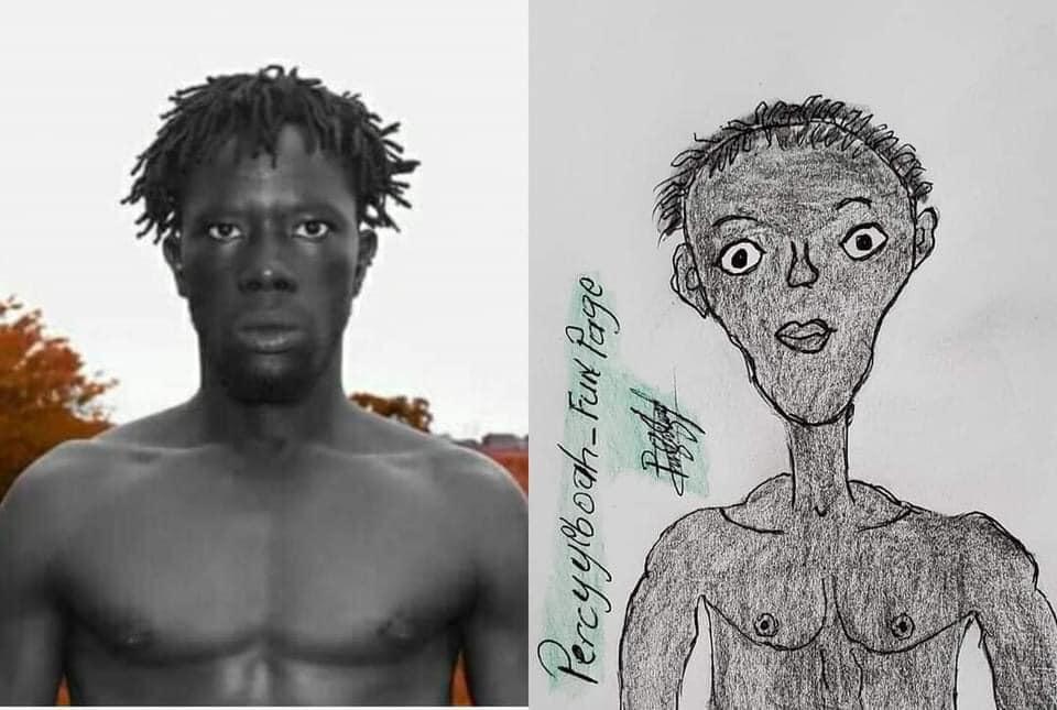 Percy Yeboah Pencil Sketches