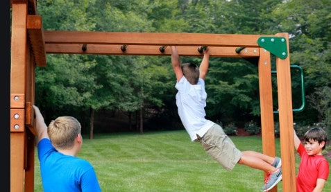 Monkey bars usage linked to increasing limb length and not body height