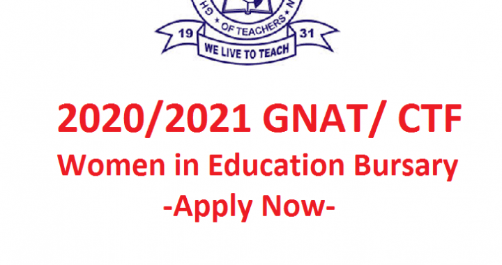 GNAT women in education bursaries