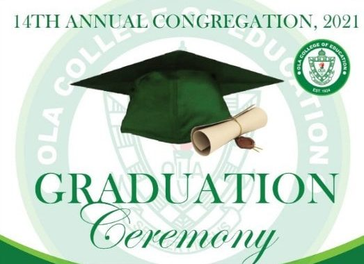 OLA College of Education 14th graduation