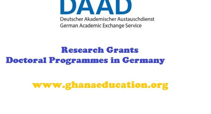 Research GrantsScholarship for Doctoral Programmes in Germany