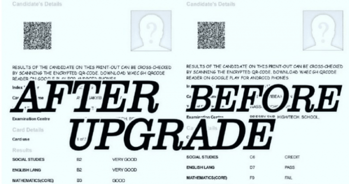 WAEC Result Upgrade Scam