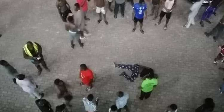 """The police has been able to establish that the young man who fell from the 4th floor of the Mensah Sarbah Hall Annex """"A"""" of the University of Ghana last week slipped when he tried to jump from one balcony to another."""
