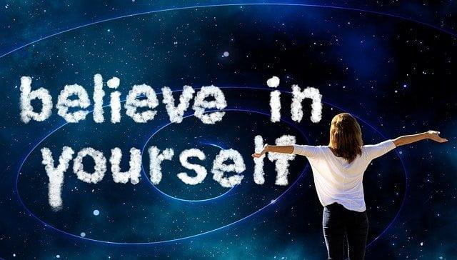 Self belief, yes self belief - Poem