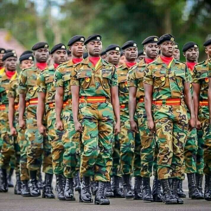 Ghana Armed Forces 2021-2021 Recruitment
