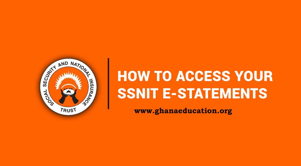 Check SSNIT contributions online