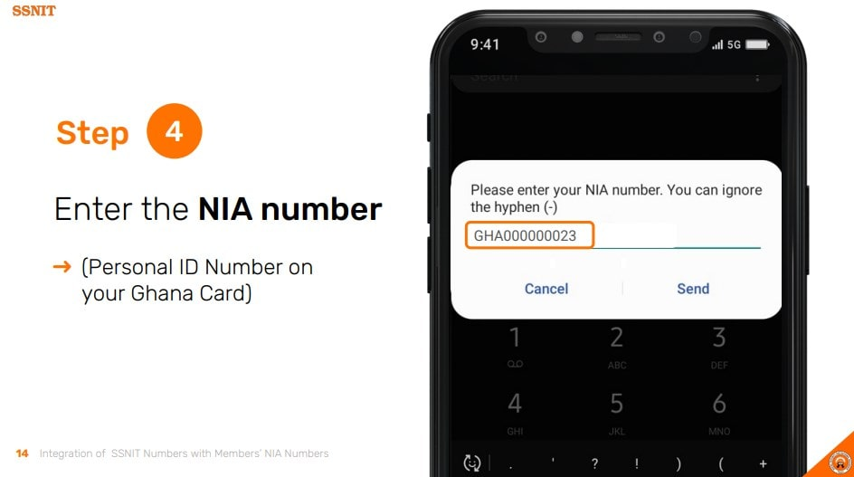 Merge SSNIT Card with Ghana Card