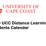 New UCC distance learning students calendar