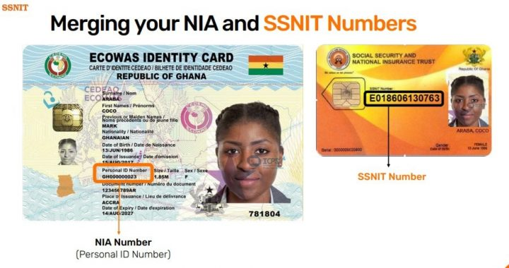 No Pension benefits if you fail to merge SSNIT Card with Ghana Card