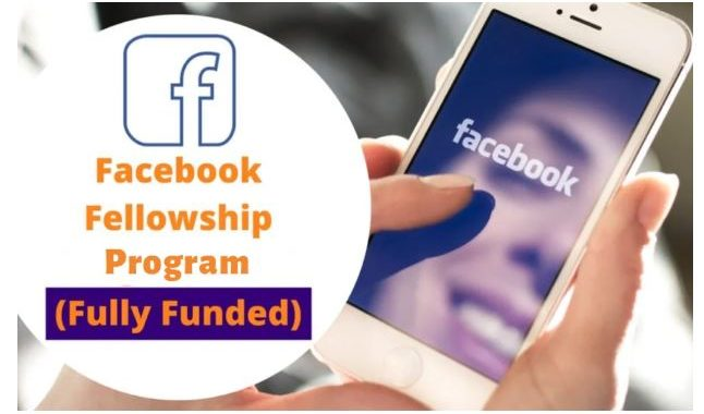 PhD candidates scholarship: Facebook Fellowship Program for International Students in USA