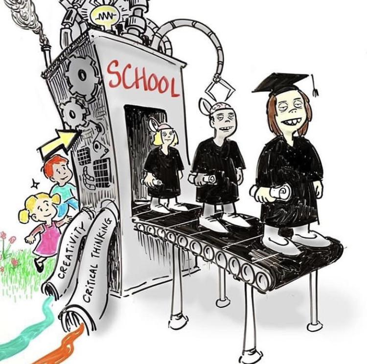 To destroy a nation tamper with their education
