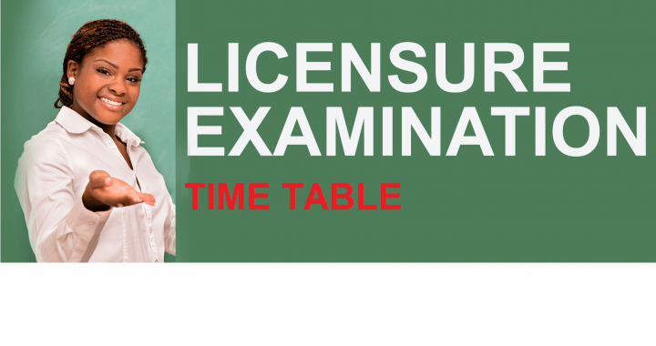 New Timetable for Postponed Teacher Licensure Exam Out